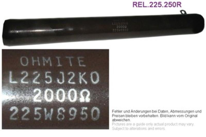 Draht-Widerstand 250 Ohm 225W, Grieder Elektronik Bauteile AG