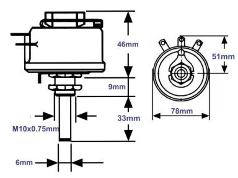 Draht-Potentiometer 10R 100W 10%, Grieder Elektronik Bauteile AG