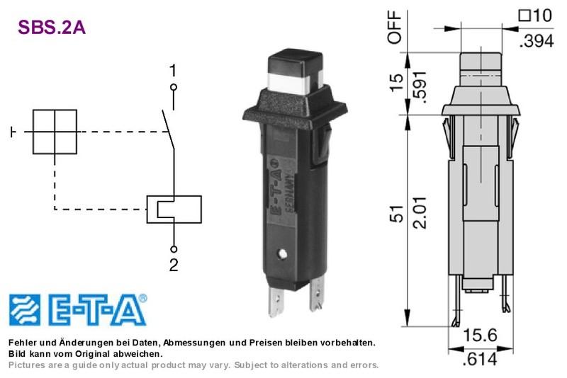 circuit breaker 2 0a 250vac 28vdc eta 1110 f312 p1m1 2 0a grieder rh shop griederbauteile ch