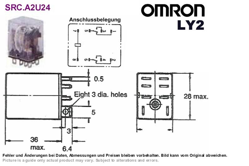 Top 10 Punto Medio Noticias   Omron Relay Ly2 Datasheet Omron Ly Vac Relay Wiring Diagram on