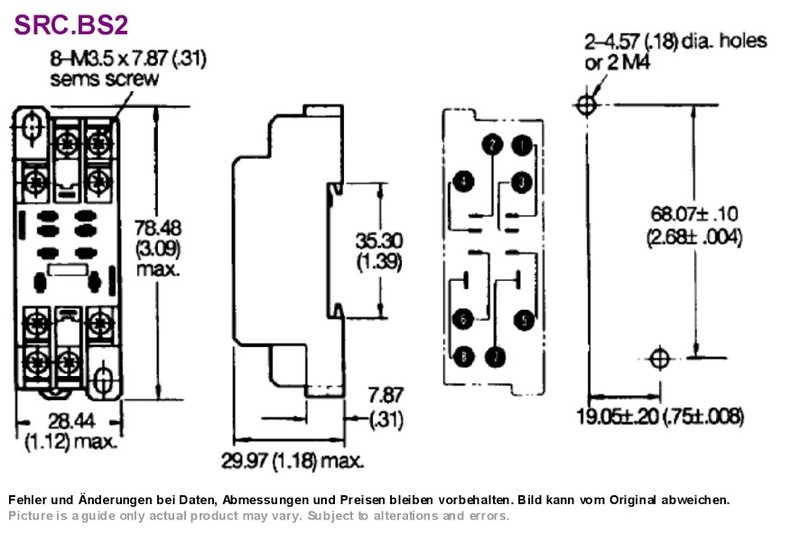 Terrific Relay Socket Dpdt Din Rail Screw Mount Omron Ptf08A E Grieder Wiring 101 Capemaxxcnl