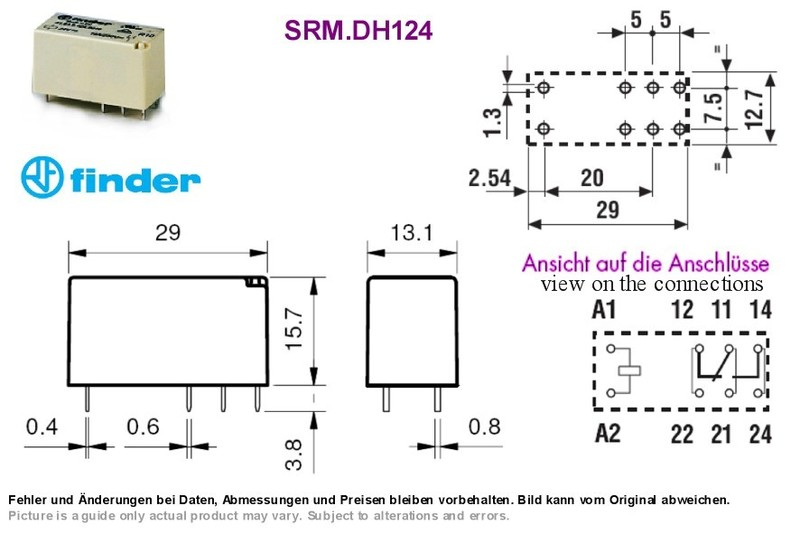 Finder 24vdc Relay Wiring Diagram Wiring Diagram And