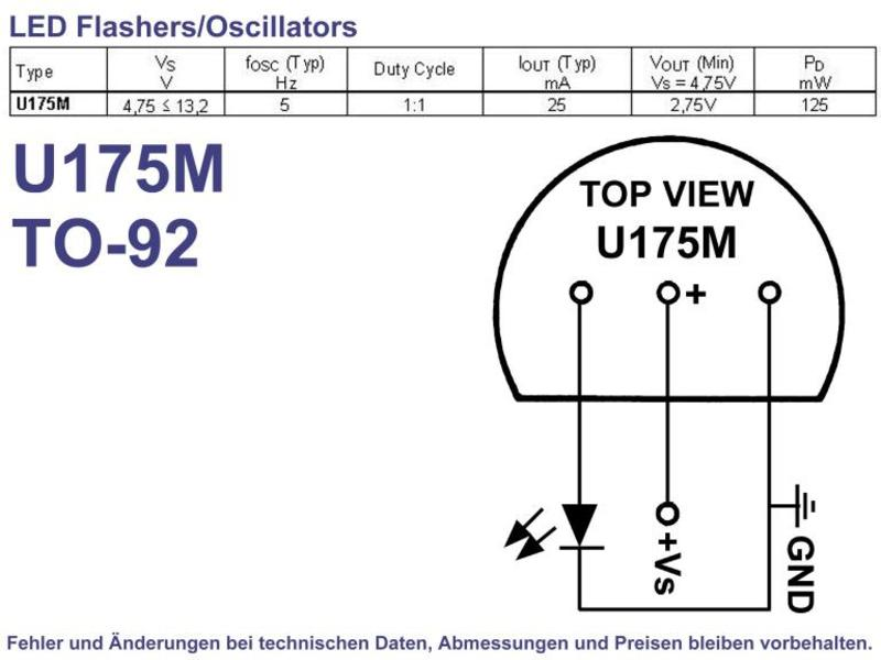 Pulse Generator TO-92, Grieder Elektronik Bauteile AG