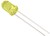 5mm LED Yellow 5V with Integrated Resistor HLMP-3650