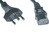 Mains Cable 3x1mm2 Grey 2m SEV-1011/IEC60320-C13