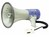 Megaphone Hand-held max 25W Monacor Type TM-27 TM27