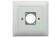 In-Wall Mounting Plate EDIZIOdue White 1x Hole Contrik UP1-ED