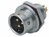 Push-Pull Connector Front Mount 2-Pole Male 250VAC 13A IP67
