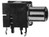 RCA Cinch Connector Female Black PCB-Mounting