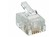 Modular Connector (Male) RJ11 RJ14 6P4C Flat Cable Lumberg P127