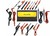 Fluke TL81A Deluxe ElectronicTest Lead Kit in Pairs Red and Blac