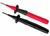 Industrial Test Probe in Pairs Red and Black with 12mm Fluke TP2