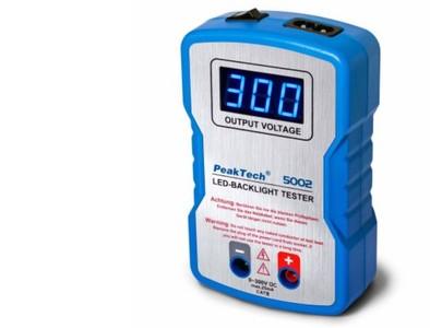 LED-Tester Backlight Tester 0 … 300VDC PeakTech P5002, Grieder